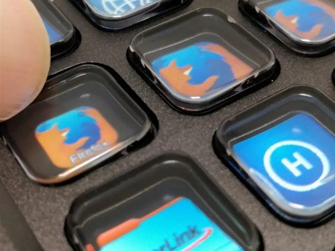 Infinitton 液晶キーボード キータッチ