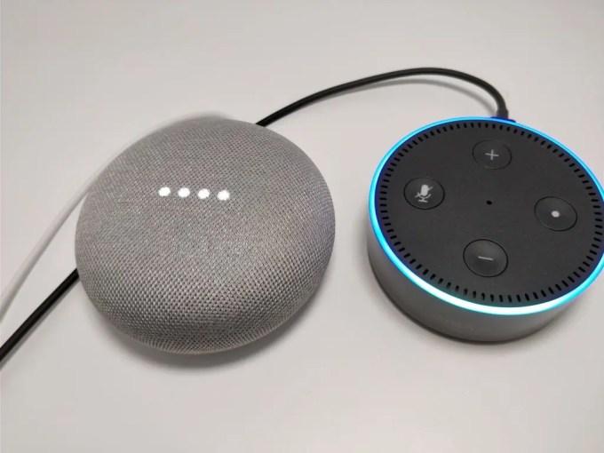 Amazon Echo Dot VS Google Home