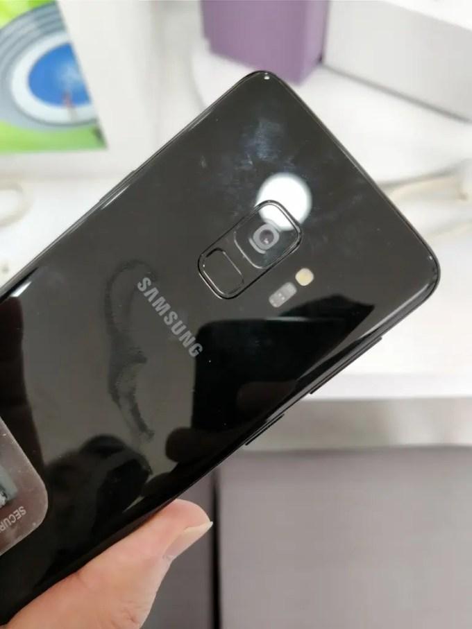 Galaxy S9裏