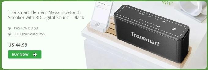 Tronsmart Bluetoothスピーカー