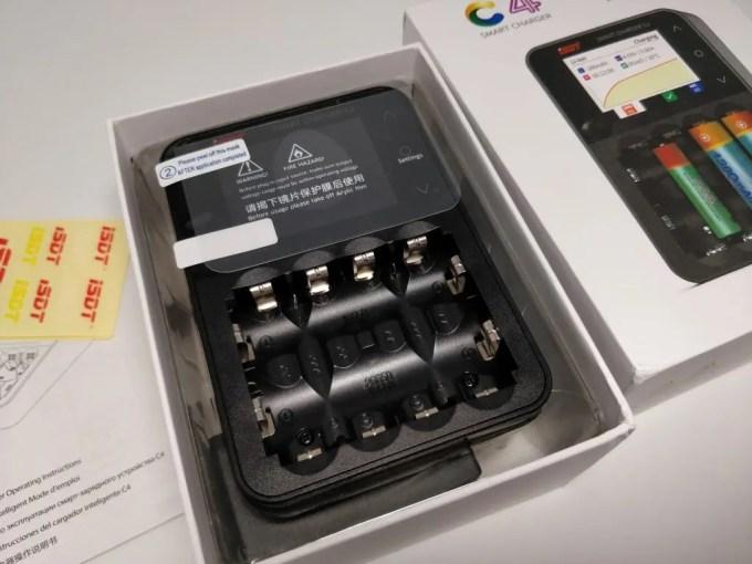 ISDT C4 8Aバッテリー充電器 化粧箱 本体