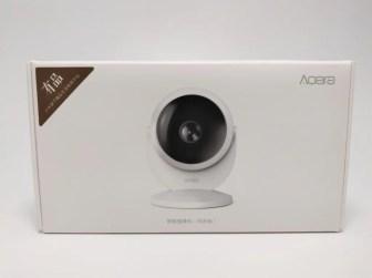 Xiaomi Mijia Aqara 180度HD IPカメラ 化粧箱表