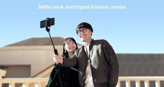 Xiaomi スマホ折りたたみ三脚・自撮り棒2