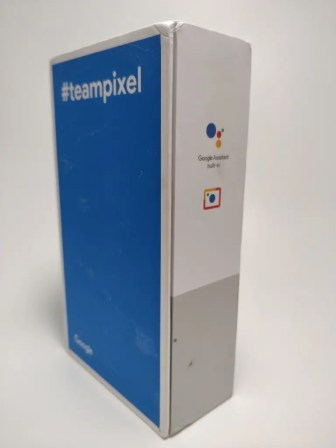 Pixel 2 XL 化粧箱 裏