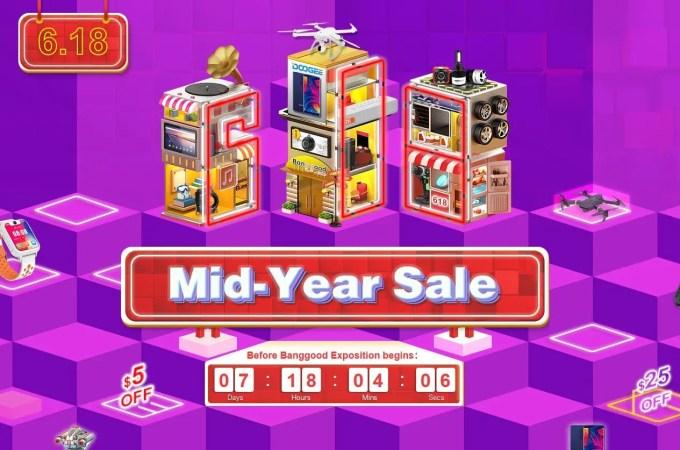 Banggood Mid-year セール