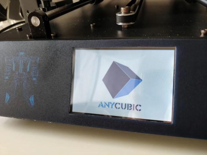 Anycubic I3 Mega 起動2