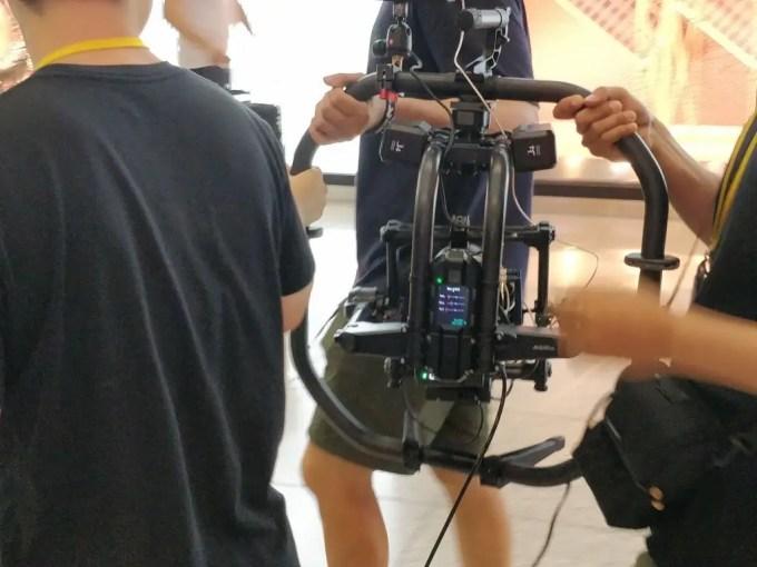 仁川国際空港 ジンバル カメラ