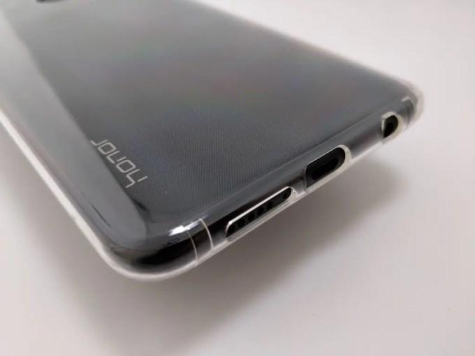 Huawei Honor 8X Max ソフトケース 下