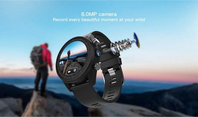 Kospet Hope 800万画素カメラ