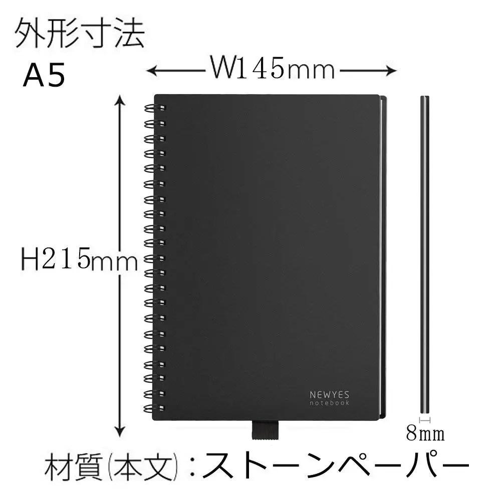 半永久的に使えるノート サイズ