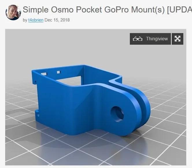 Osmo Pocket ホルダー