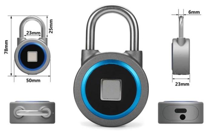 OKLOK Smart Lock サイズ