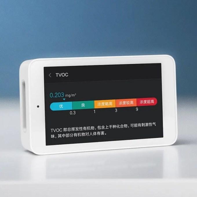 Xiaomi Mijia 空気テスター レベル
