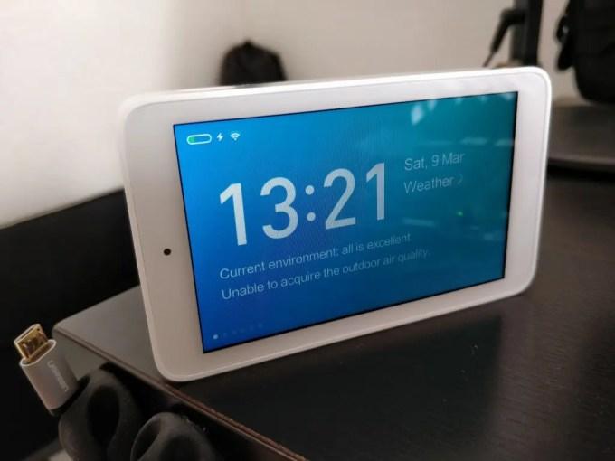 Xiaomi Mijia 空気テスター 時計