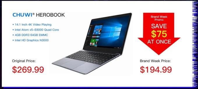 CHUWI HeroBook Laptop