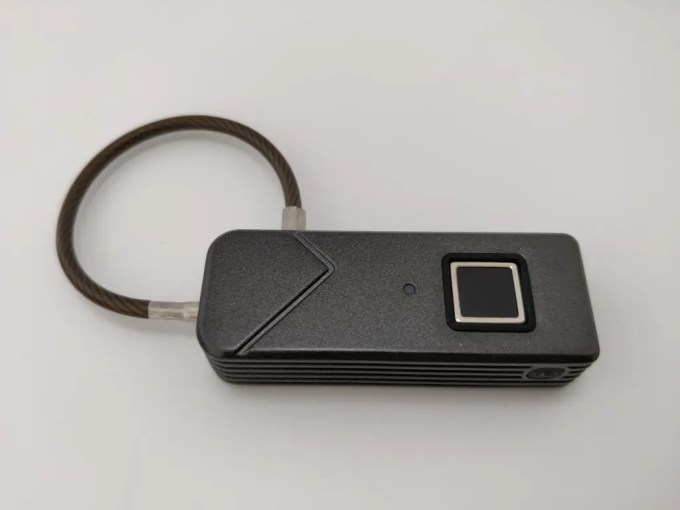 Smart Fingerprint Keyless Padlock Portable 表