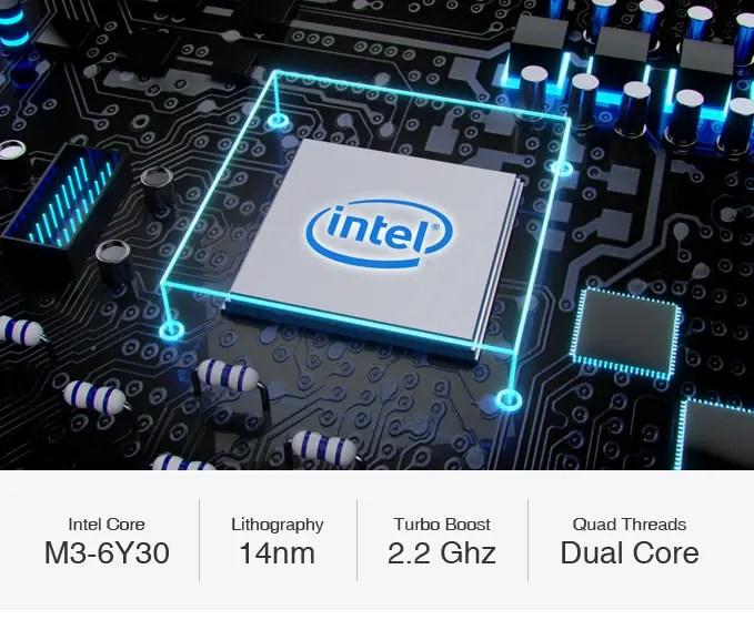CHUWI AeroBook  CPU