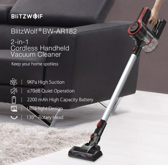 BlitzWolf BW-AR182 ハンディ掃除機