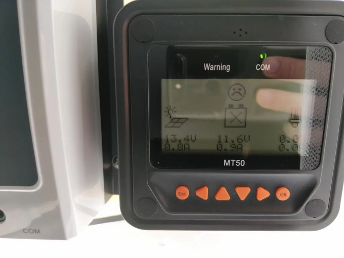 自作ソーラー チャージコントローラーMT50  無い