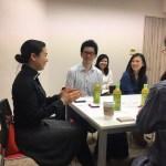 留学経験者の転職セミナー第二回の様子