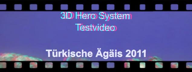 Testvideo – GoPro 3D Hero System