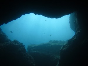 Lavafinger Höhle