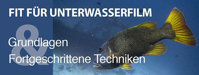 Fit für Unterwasserfilm