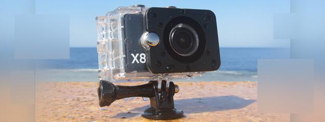 Mit der Actionpro X8 unter Wasser filmen