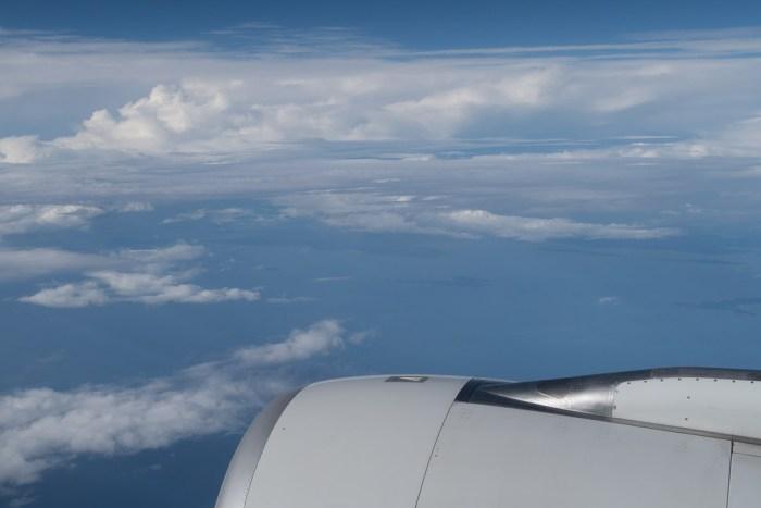 Fernreise mit dem Flugzeug