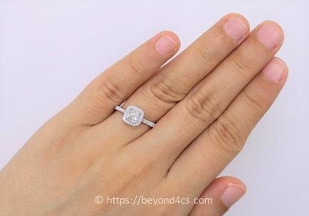 cushion cut diamond guide with