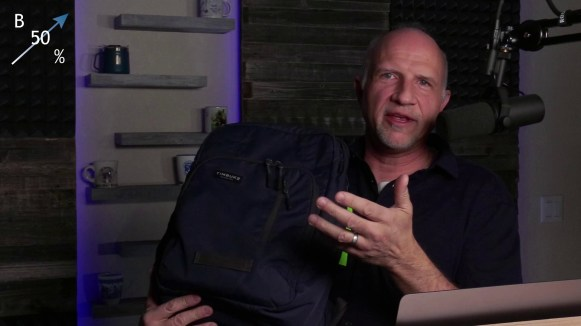 Timbuk2 Backpack - I wasn't very animated about it during the livestream but this thing is awesome!