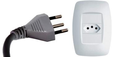 Power plug type N Brazil power plug
