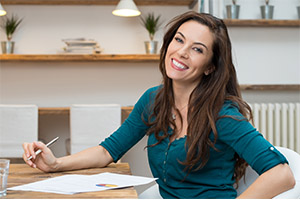 Older woman you could be flirting with at work - main