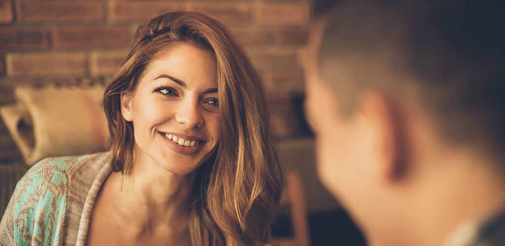 Signs a older woman likes you