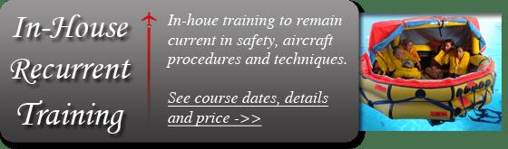 Flight attendnat training private jets
