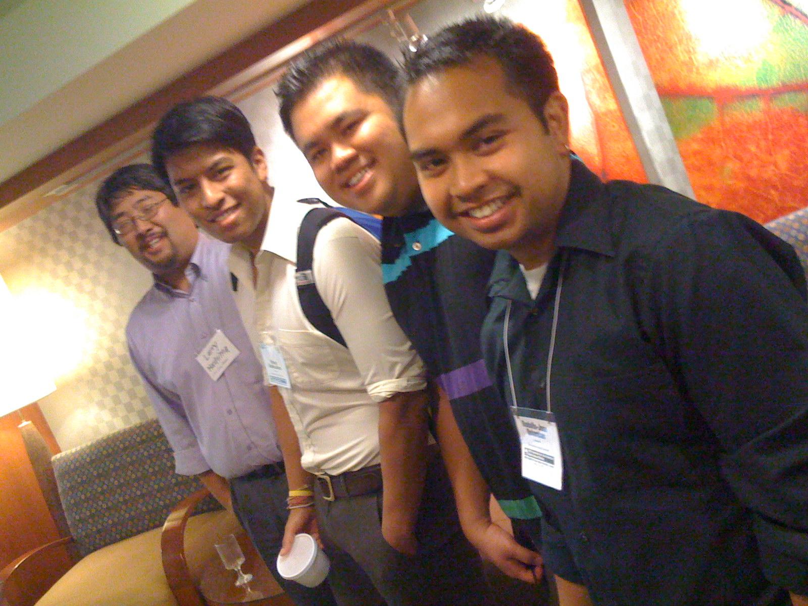 Lawrence Hashima, Pahole Sookkasikon, Kevin Lim & RJ Quiambao rock the house, AAAS 2009