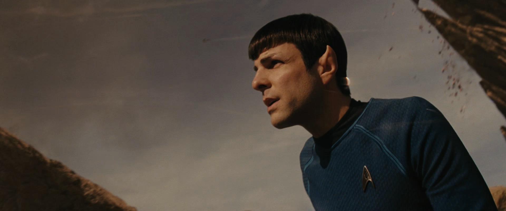 The new old Spock, Star Trek, 2009