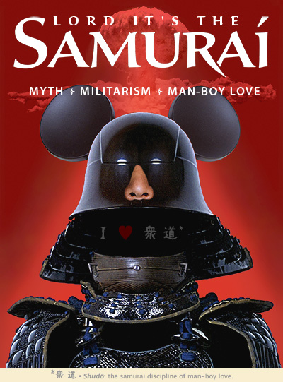 altered poster, Lord, It's the Samurai, intervention, 2009