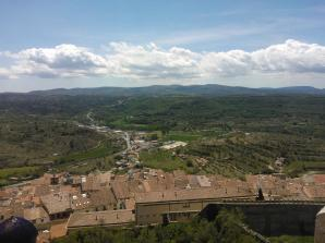 View from Morella