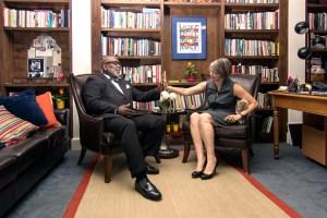 Dr. Willie Parker and Rev. Barbara Prose