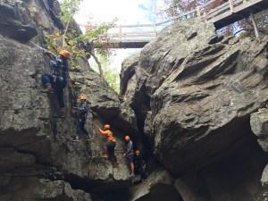 spiritqUUest rock climbing