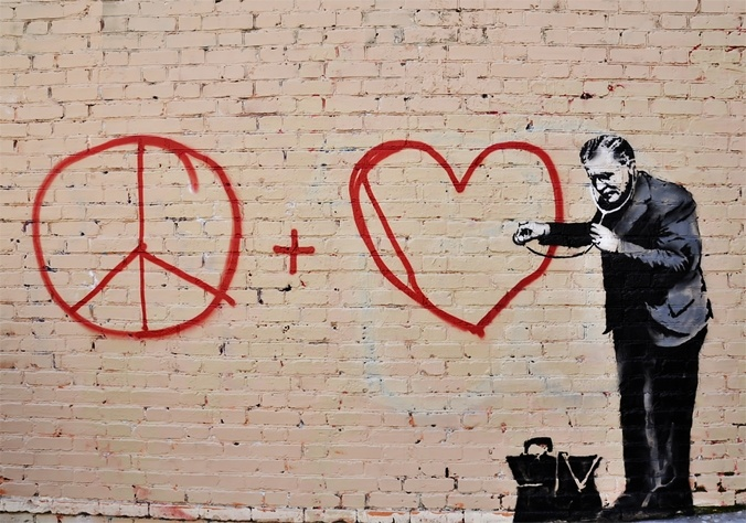 Peace Feature Bansky