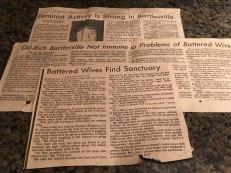 Battered women article