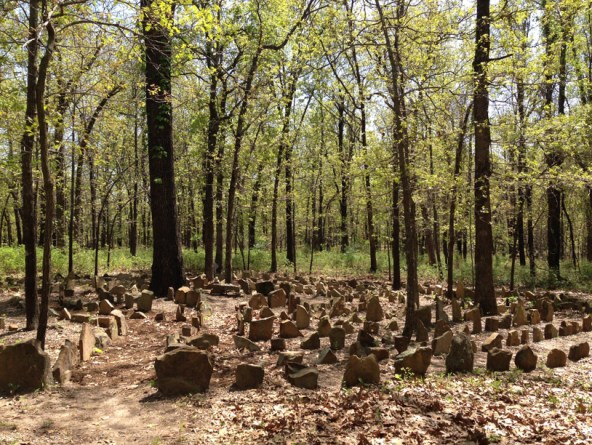 Labyrinth at Osage Forest of Peace