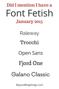 best fonts for a blog