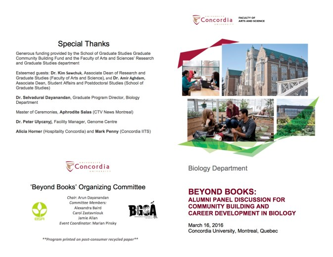 FINAL Program- Beyond Books Panel Discussion