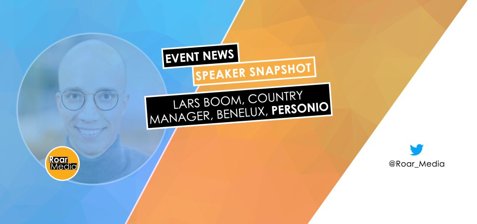 Lars Boom, Country Manager, Benelux at Personio speaking at online Digital Transformation Conference