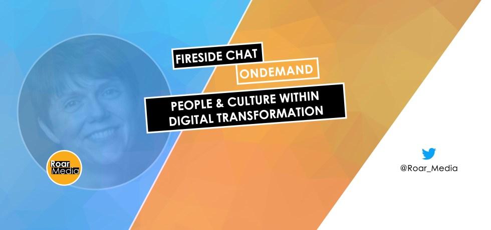 Louise Elliott spoke at the online digital transformation conference