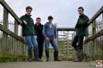 The team; BTP Liam Heatherson, Luke Baker, Michael Clark, BTP Joe Mander