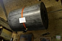 Replica bouncing bomb used by the 'Dam Busters'